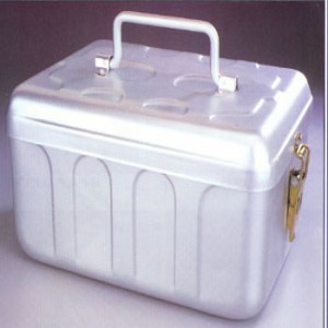 Midwifery Case With Lid (Aluminum)
