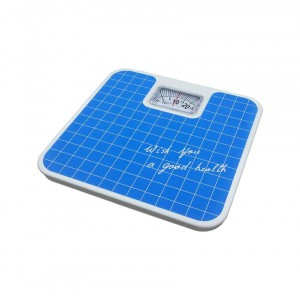 Personal Weighing Scale Mechanical With Shock Absorbing Mechanism