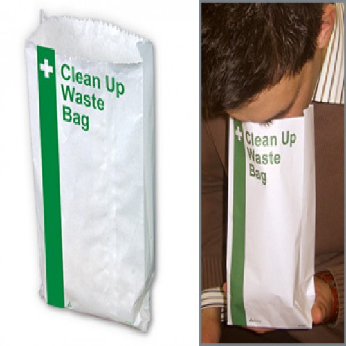 Vomit Bag, Disposable
